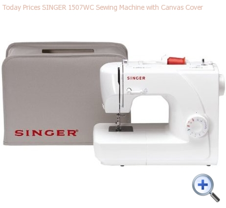 SINGER 1507WC SEWING MACHINE WITH CANVAS COVER