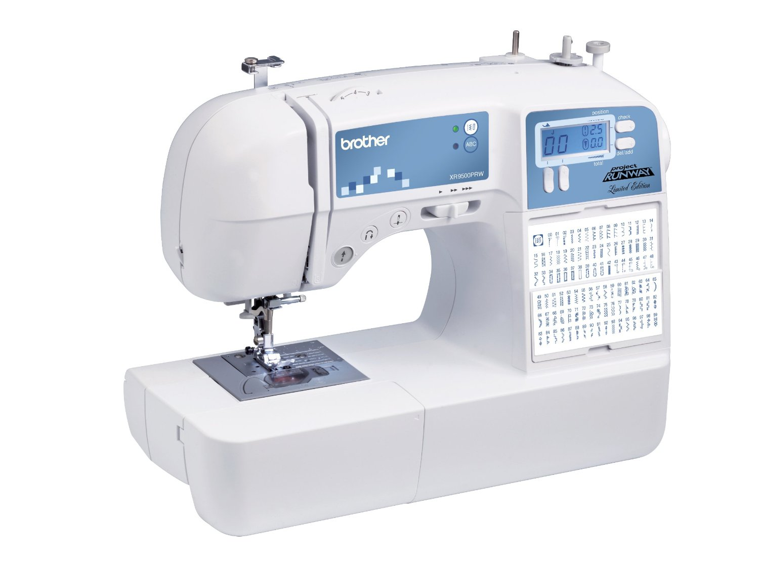 Brother XR9500PRW Limited Edition Project Runway Sewing Machine